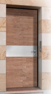 Armoured brick door πόρτα ασφαλείας επένδυση τούβλο Loft mylofteu