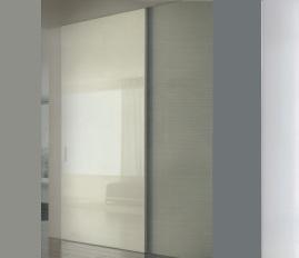 Glossy sliding externally 1 συρόμενη πόρτα Loft mylofteu