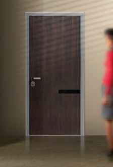 Steel security door frame in many colours