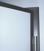 πόρτα ασφαλείας white armoured door silver frame λευκή ασημί κάσα Loft mylofteu