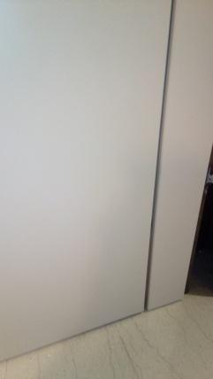 MS Soft ιταλική πόρτα λάκα γκρι εκθεσιακό προσφορά 20200827_134208